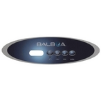 MVP260 Control Panel Overlay with Jets, Lights, Cool and Warm Button Settings