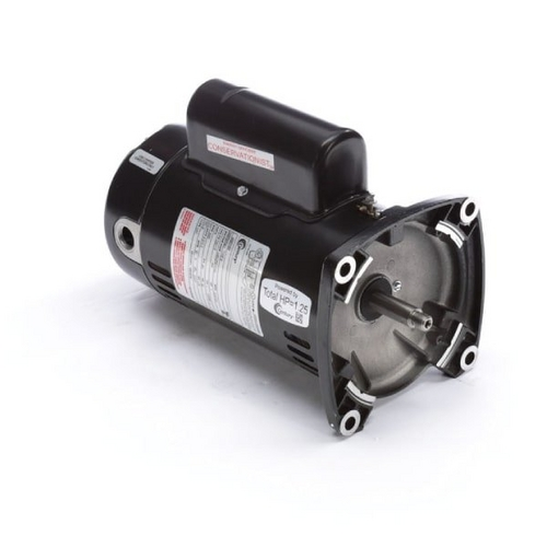Century A.O. Smith - 48Y Square Flange 1 HP Up-Rated Pool Filter Motor, 12.6/6.3A 115/230V