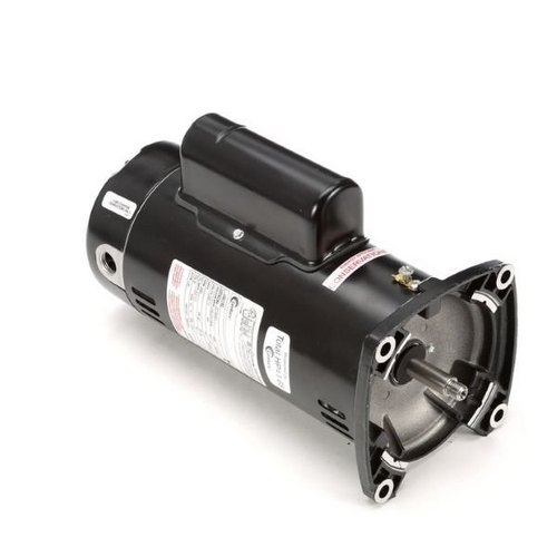 Century A.O. Smith - 48Y Square Flange 1-1/2 HP Up-Rated Pool Filter Motor, 16.0/8.0A 115/230V