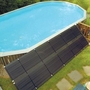 """EcoSaver 30"""" x 10' Solar Panel Pool Heater for Above Ground Pools (2 Pack)"""