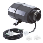Hydro-Quip - SILENT AIRE Blower Series Air Blower Rite-Fit 1.0HP 120V with 6in. Cord with 42in. Amp Adapter Cord - 304446