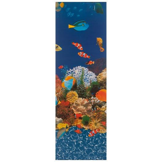 Beaded 15' x 24' Oval Caribbean 52 in. Depth Above Ground Pool Liner, 20 Mil