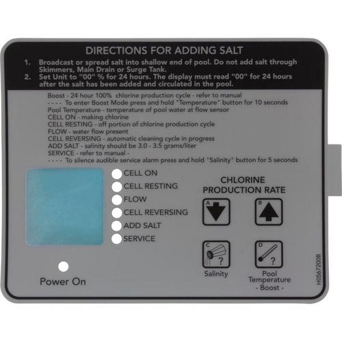 Jandy - AquaPure Control Box Bottom Decal