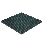 Merlin  Dura-Mesh Safety Cover 12 x 24 Rectangle with Center End Step Green 15 Year Warranty