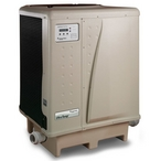 90,000 BTU, 230V, Titanium Pool and Spa Heat Pump (Almond)