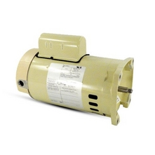 Pentair - 075234S Square Flange 1HP Full Rated 56Y Single Speed Pool Motor 115/230V