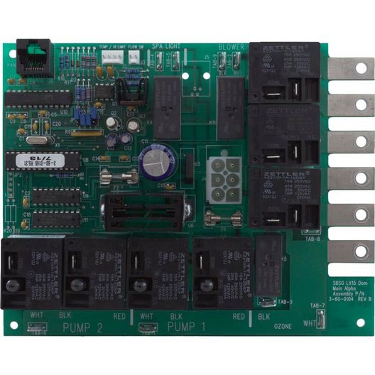 Lx-15 Extended Software Rev 5.31 Circuit Board