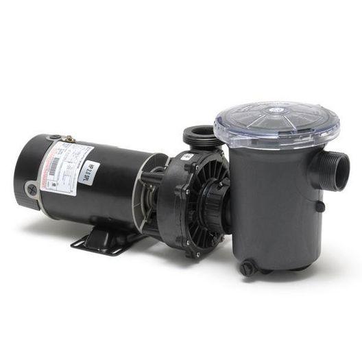 Hi-Flo Side Discharge 48-Frame 2HP Above Ground Pump with 3' NEMA Cord, 115V
