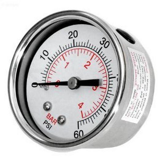 Pressure Gauge Clearwater II Waterproof SS