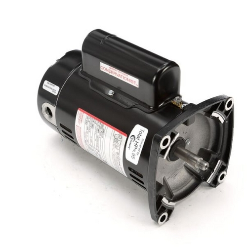 Century A.O. Smith - 48Y Square Flange 3/4 HP Up-Rated Pool Filter Motor, 9.6/4.8A 115/230V