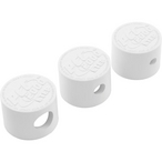 Paramount - PCC 2000 Nozzle Caps (1/4in., 3/8in., 5/8in.), White - 305379