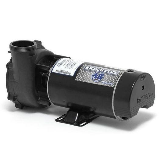 Executive 48-Frame 2HP Dual-Speed Spa Pump, 2-1/2in. Intake, 2in. Discharge, 230V