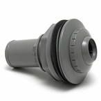 Waterway - Deluxe Return Line Fitting Assembly 1in. Eye, Gray - 305657