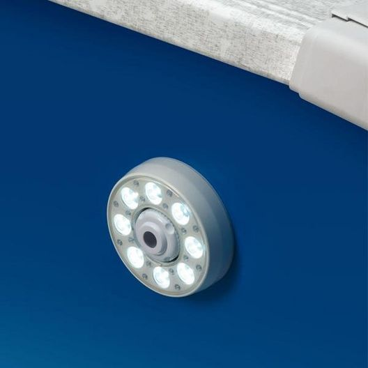 Ocean Blue  Jet Thru-Wall LED Above Ground Pool Light