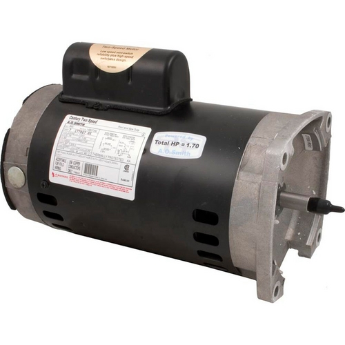 Century A.O. Smith - B2982 Square Flange 1HP Dual Speed Full Rated 56Y Pool and Spa Pump Motor
