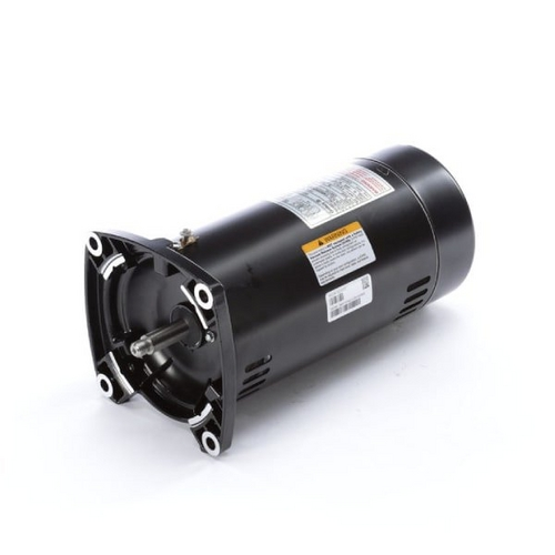 Century A.O. Smith - 48Y Square Flange 3/4 HP Full Rated Pool Filter Motor, 15.3/7.6A 115/230V