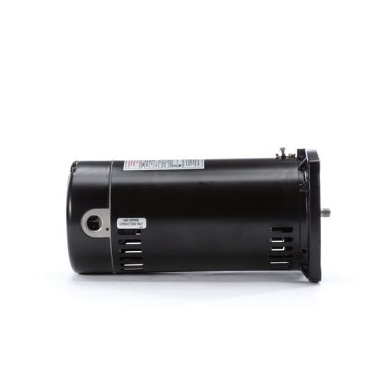 48Y Square Flange 3/4 HP Full Rated Pool Filter Motor, 15.3/7.6A 115/230V