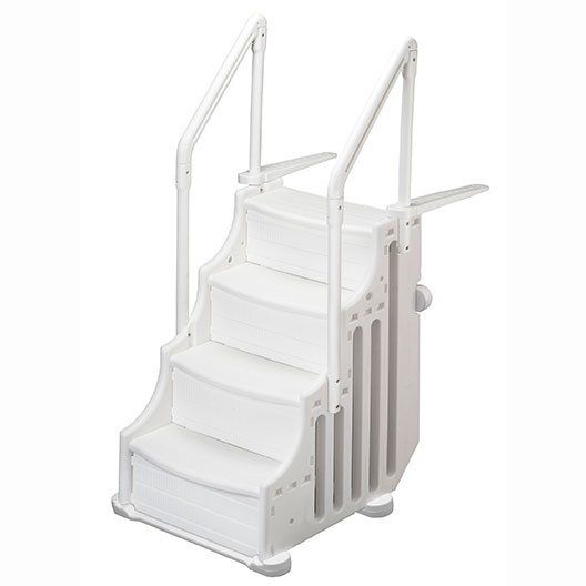 Ocean Blue  Mighty Step 25 Outside Entry Safety Ladder