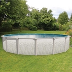 Heritage 21' x 52in. Round Above Ground Swimming Pool with Skimmer