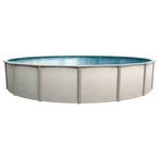 Reprieve 27' x 48in. Round Above Ground Swimming Pool with Skimmer