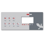Gecko - Topside Spa Keypad Overlay for TSC-8 Keypad with Seven Keys - 306307