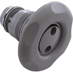 Waterway - Poly Spa Jet Pulsator Spa Jet Internals with Large Five-Scallop Textured Escutcheon - 306346