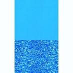 Swimline - Overlap 12' x 21' Oval Swirl Bottom 48/52 in. Depth Above Ground Pool Liner, 25 Mil - 306690