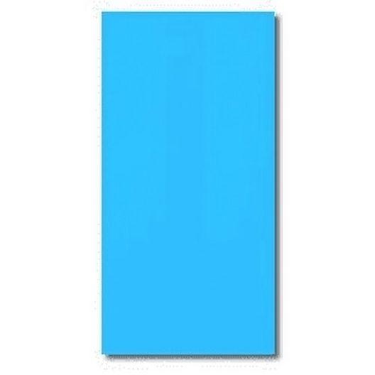Swimline - Overlap 33' Round Solid Blue 48/52 in. Depth Above Ground Pool Liner, 20 Mil - 306823