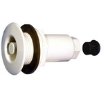 Though Wall Drywell Assembly Lite Line 5/16in. x 2in. Bulb White