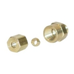 CompreSSion Fitting 1/8in. x 3/16in. Od Brass