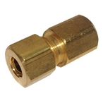 Compression Fitting 1/8in. x 1/4in. OD Brass