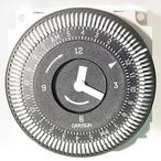 Time Clock 220V 15 Amp 60 Hz 24 Hour 5 Lug
