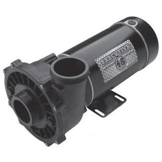 Executive 48-Frame 4HP Single-Speed Spa Pump, 2-1/2in. Intake, 2in. Discharge, 230V