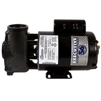 Waterway - Executive 56-Frame 3HP Single-Speed Spa Pump, 2in. Intake, 2in. Discharge, 230V - 308618