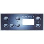 Balboa - Serial Standard Panel Overlay Standard Panel LCD (2 Pumps, Blower, Light) - 308666