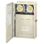 Intermatic - 100 Amp Control Center with two 220V Timers - 308745