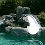 BigRide Left Turn Complete Pool Slide - Taupe