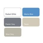 S.R. Smith - Acrylic Pool Slide Repair Kit, Marine Blue - 308799