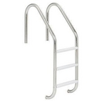 S.R. Smith - 24in. Economy 3-Step Ladder Econoline White Powder Coated - 309028