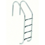 S.R Smith  23in Commercial 4-Step Ladder with Cross Brace and Stainless Steel Treads (.065in.)
