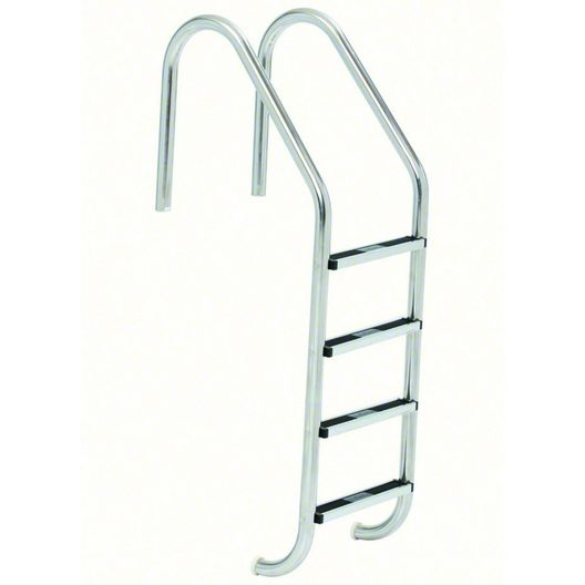 S.R. Smith - 23in. Commercial 4-Step Ladder with Cross Brace and Stainless Steel Treads (.065in.) - 309235