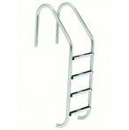 S.R Smith  23in Commercial 4-Step Ladder and Stainless Steel Treads (.109in.)