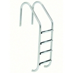 S.R Smith  35in Commercial 4-Step Ladder with Cross Brace and Stainless Steel Treads (.065in.)