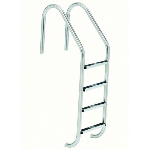 S.R. Smith - 35in. Commercial 4-Step Ladder with Cross Brace and Stainless Steel Treads (.065in.) - 309259