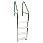 23in. Commercial 4-Step Ladder with Cross Brace (.065in.)