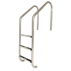 """LF-24-3B LF Commercial 24"""" 3-Step Pool Ladder with Stainless Steel Treads"""