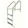 36in. Commercial 3-Step Ladder with Cross Brace Marine Grade