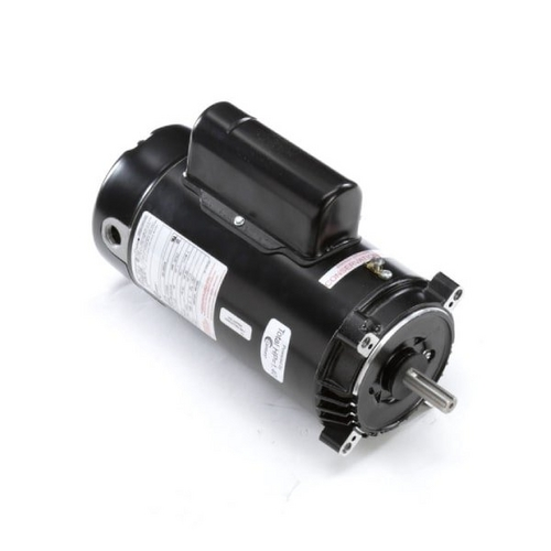 Century A.O. Smith - 56C C-Face 1 HP Single Speed Full Rated Pool Filter Motor, 13.6/6.8A 115/230V