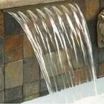 MagicFalls Waterfall Sheet Standard 1in. Lip 3' White