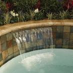 MagicFalls Waterfall Sheet Super 13in. Lip 3' Bronze
